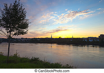 Bangor Sunset