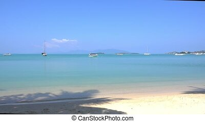 Bangrak Beach and ocean Koh Samui, Thailand