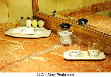 banheiro, hotel