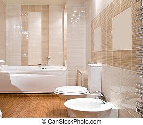 banheiro, modernos