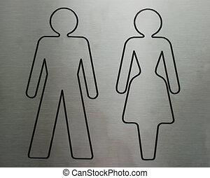 banheiro, símbolo