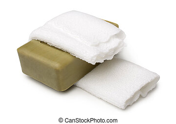 banheiro, toalha, sabonetes, banho