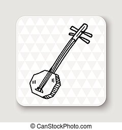 Banjo doodle