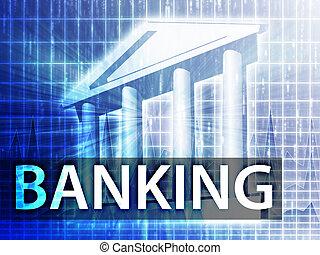 bankügylet, ábra