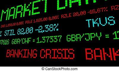 bankügylet, krízis