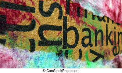 bankügylet, szöveg, képben látható, grunge, háttér