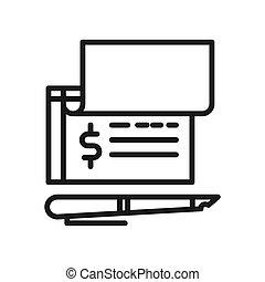 bank check payment
