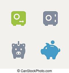 Bank Deposit - Granite Icons