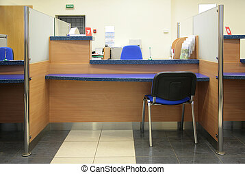 bank desk