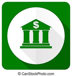 bank flat icon