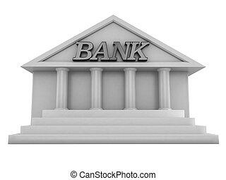 bank, gmach