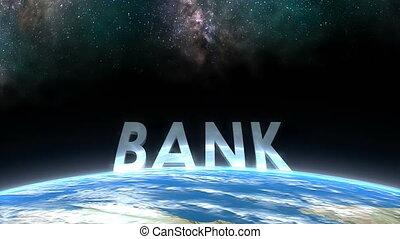"""bank."""", horizont, """"earth, kilátás"""