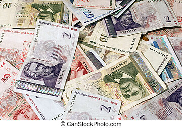 bank-notes, argent, bulgare