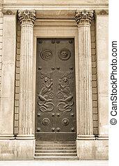 Bank of England doors
