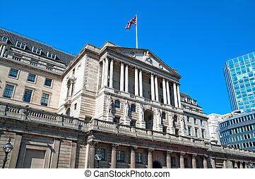 Bank of England, London - Facade of Bank of England