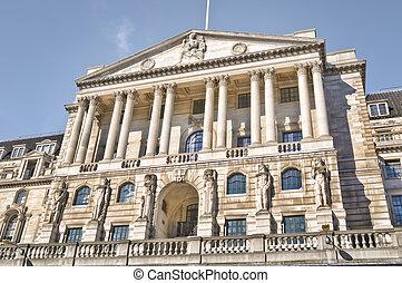Bank of England, London - Facade of Bank of England(formally...