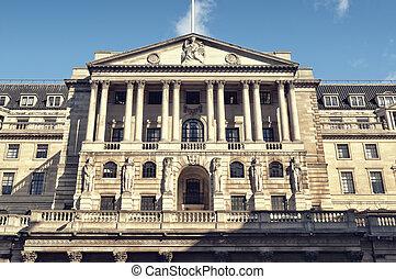 Bank of England, London.