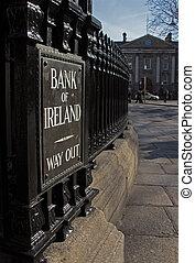 Bank of Ireland in Dublin, 2015