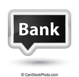 Bank prime black banner button