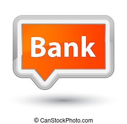 Bank prime orange banner button