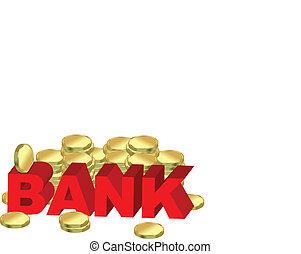 bank, słowo