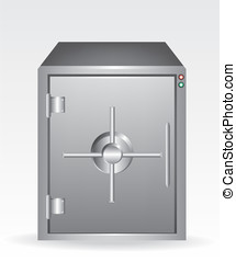 Bank safe illustration
