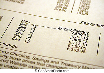 Bank Statement - Bank statement showing some transfers of...