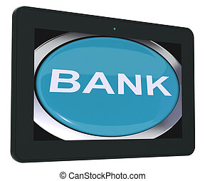 Bank Switch Shows Online Or Internet Banking