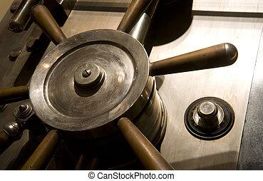 Bank Vault Safe - Door of a Safe in a bank Vault