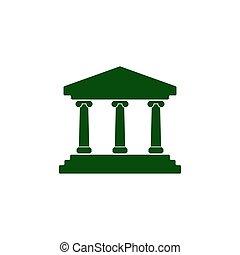 Bank vector icon