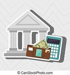 bank wallet calculator money