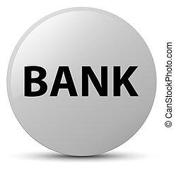 Bank white round button