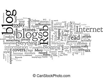 Bank Your Blog text background wordcloud concept
