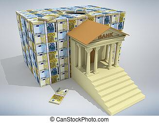 Banking concept 3D
