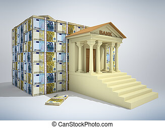 Banking concept 3D