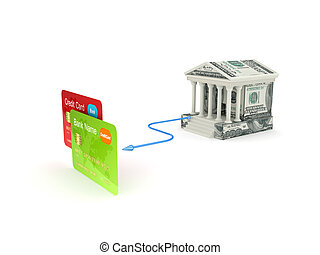 Banking concept.