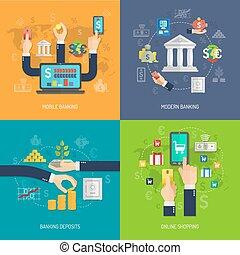 Banking Design Concept