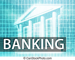 Banking illustration