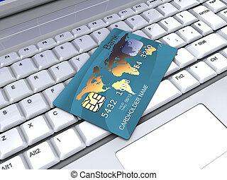 bankrörelse, internet