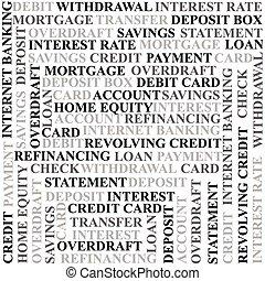 bankrörelse, termen, bakgrund