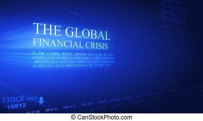 bankrupcy, data, in, moderne, scherm