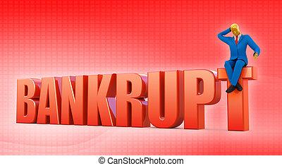 Bankrupt concept