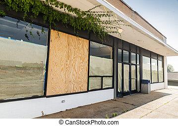 Bankrupt Retail Store After Pandemic Crash