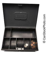 Bankruptcy Battered Old Cash Box