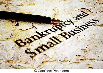 Bankruptcy business