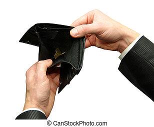 bankruptcy - Empty wallet