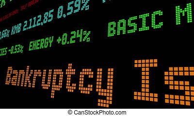 Bankruptcy Is Better Option for Small Businesses stock ticker