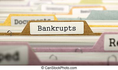 Bankrupts - Folder Name in Directory. - Bankrupts - Folder ...