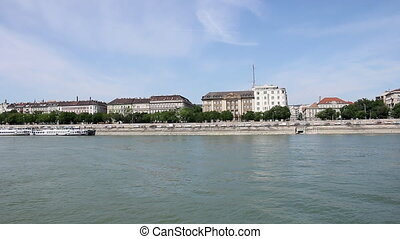 banks of the Danube in Budapest