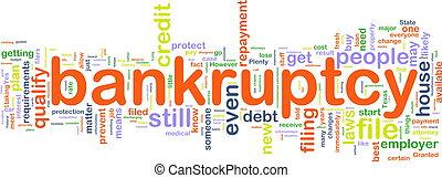 bankuptcy, wordcloud
